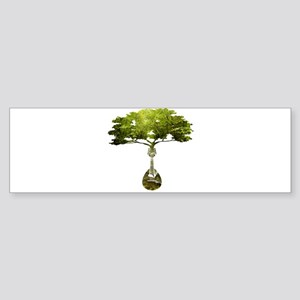 Mandolin Tree Bumper Sticker