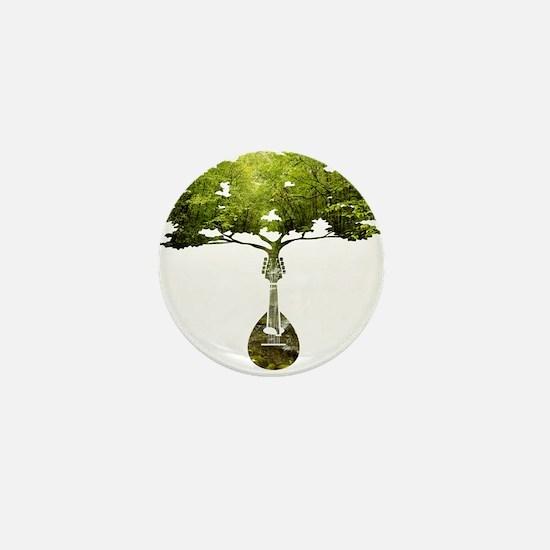 Mandolin Tree Mini Button