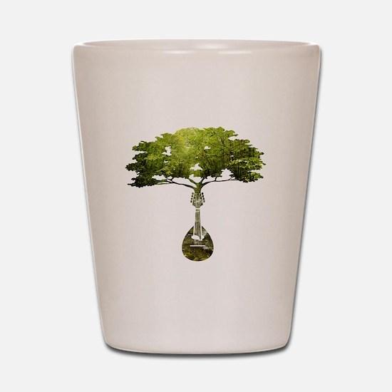 Mandolin Tree Shot Glass