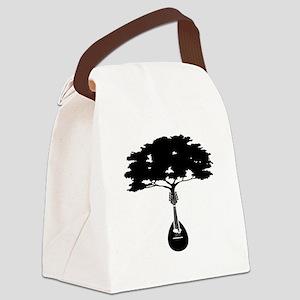 Mandolin-2 Canvas Lunch Bag