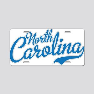Carolina Aluminum License Plate