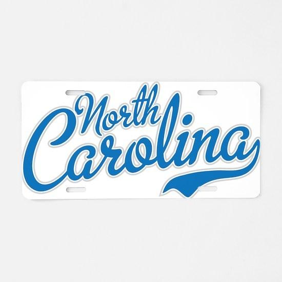 Carolina Aluminum License Plate