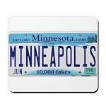 Minneapolis License Mousepad