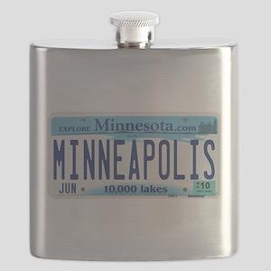 Minneapolis License Flask