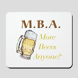 MBA Beers Mousepad