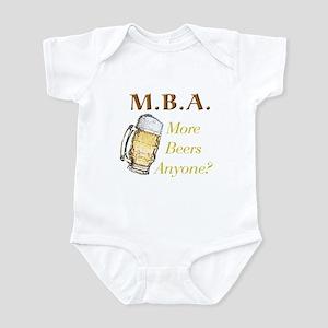 MBA Beers Infant Bodysuit