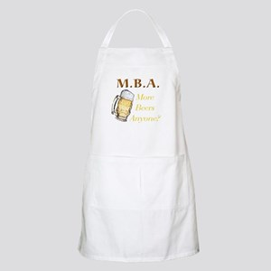 MBA Beers BBQ Apron