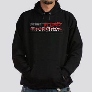 Job Dad Firefighter Hoodie (dark)
