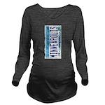 Minneapolis License Long Sleeve Maternity T-Shirt