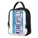 Minneapolis License Neoprene Lunch Bag