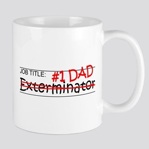 Job Dad Exterminator Mug