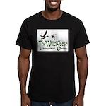 Wg Logo Men's Fitted T-Shirt (dark)