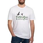 Wg Logo Organic Men's Fitted T-Shirt