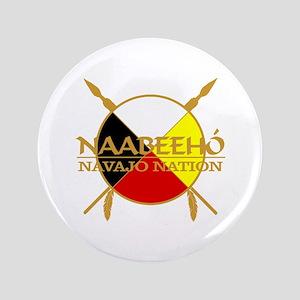 "Navajo Nation 3.5"" Button"