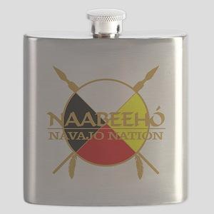 Navajo Nation Flask