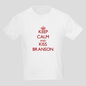 Keep Calm and Kiss Branson T-Shirt