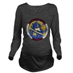 USS HANSON Long Sleeve Maternity T-Shirt