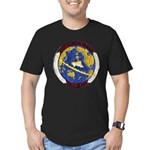 USS HANSON Men's Fitted T-Shirt (dark)