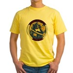 USS HANSON Yellow T-Shirt