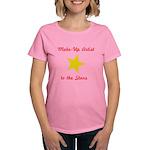 Make Up Artist to the Stars Women's Dark T-Shirt