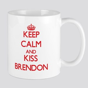 Keep Calm and Kiss Brendon Mugs
