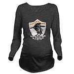 USS HANSON Long Sleeve Maternity T-Shirt