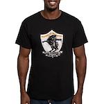 USS HANSON Men's Fitted T-Shirt (dark)