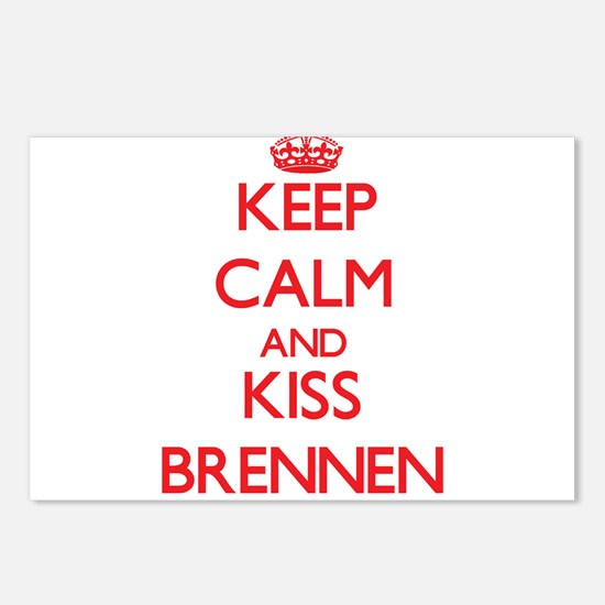 Keep Calm and Kiss Brennen Postcards (Package of 8