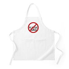 No Plastic Bag BBQ Apron