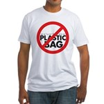 No Plastic Bag Fitted T-Shirt