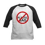 No Plastic Bag Kids Baseball Jersey