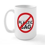 No Plastic Bag Large Mug