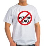 No Plastic Bag Light T-Shirt