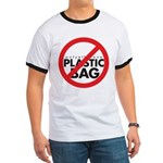 No Plastic Bag Ringer T