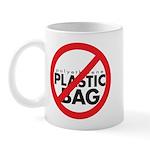 No Plastic Bag Mug