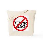 No Plastic Bag Tote Bag
