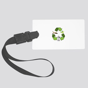 Recycle Logos Luggage Tag