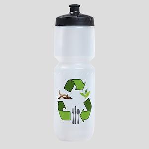 Recycle Logos Sports Bottle