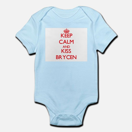 Keep Calm and Kiss Brycen Body Suit