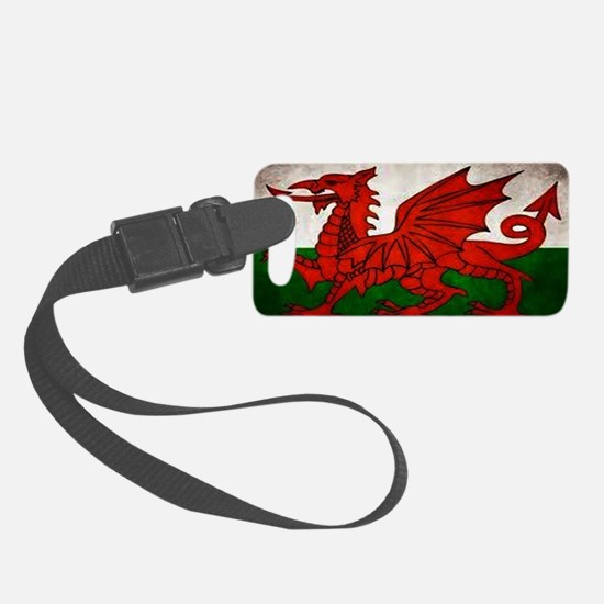 Wales Luggage Tag