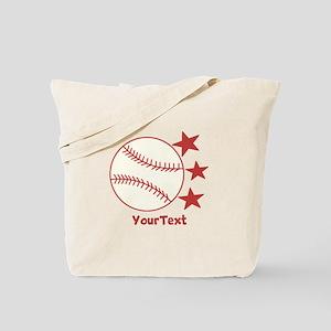 CUSTOMIZE Baseball Tote Bag