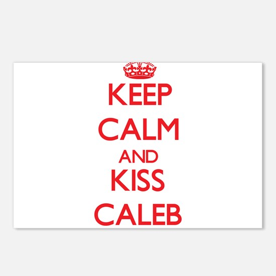 Keep Calm and Kiss Caleb Postcards (Package of 8)