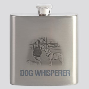 Dog Whisperer Extraordinaire Flask