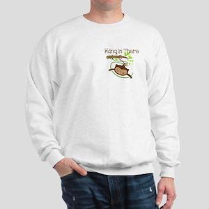 Monkey Hang in There Sweatshirt