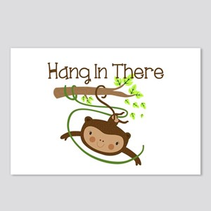 Monkey Hang in There Postcards (Package of 8)