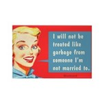Garbage Married, By Bluntcard Magnets