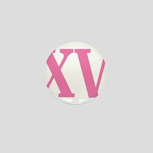 Quince Anos XV Mini Button
