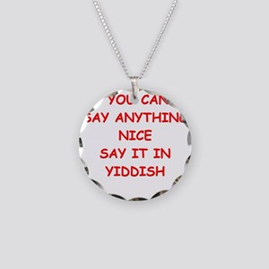 YIDDISH Necklace