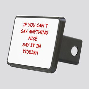 YIDDISH Hitch Cover