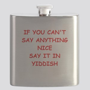 YIDDISH Flask